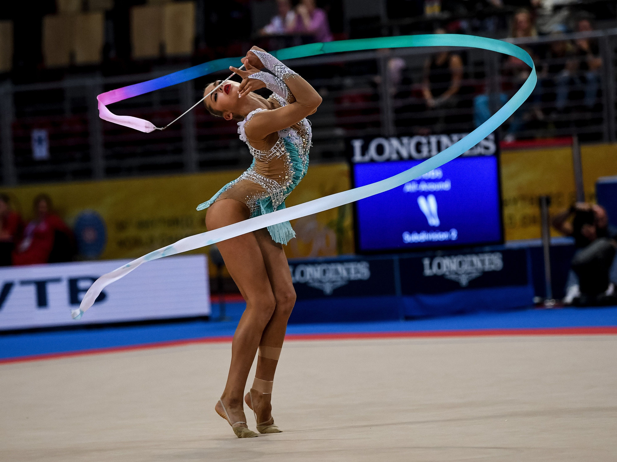 Home hope Vladinova drops away as Russia's Soldatova flourishes at Rhythmic Gymnastics World Cup in Sofia