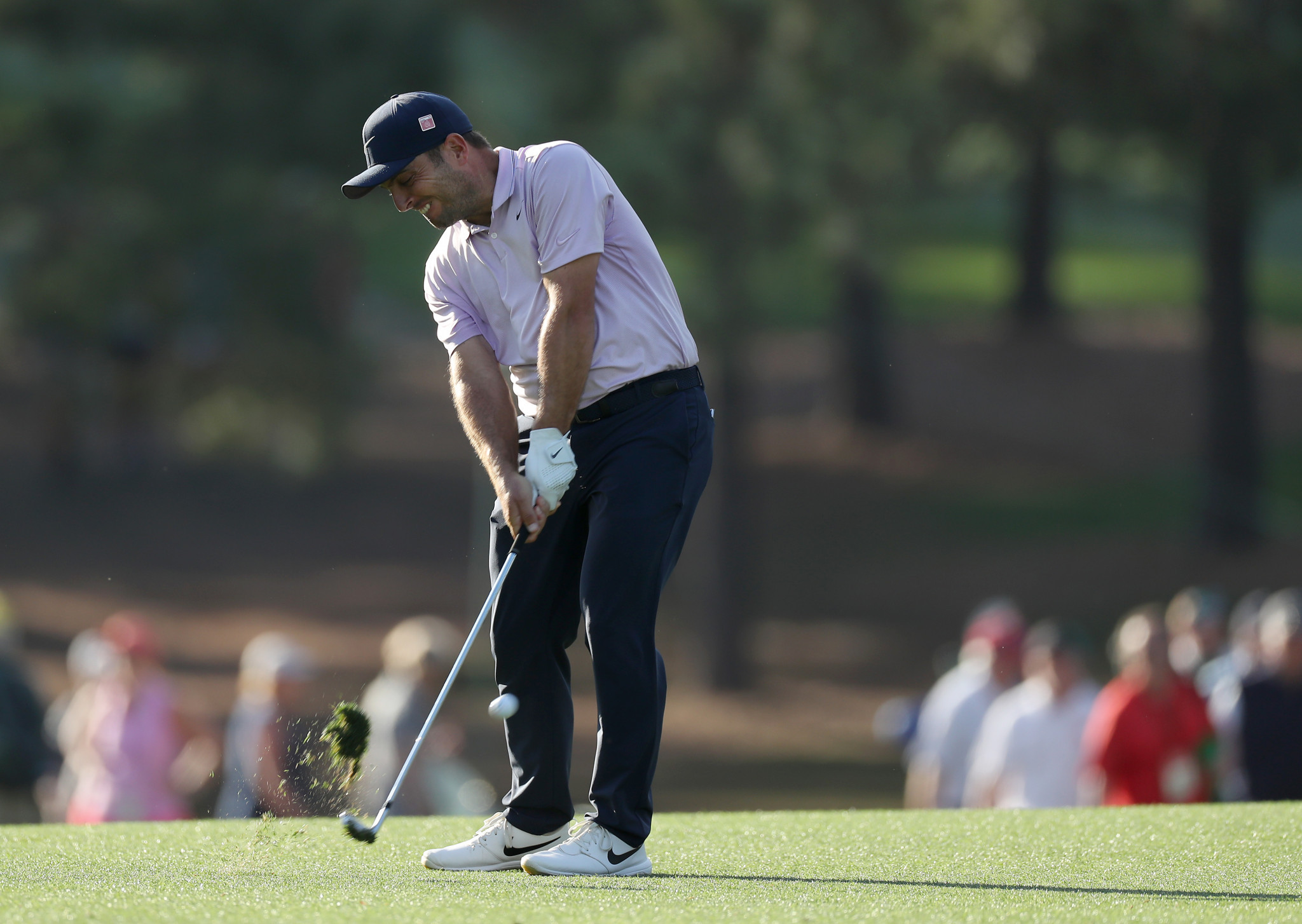 Molinari takes two-shot lead into final day of The Masters