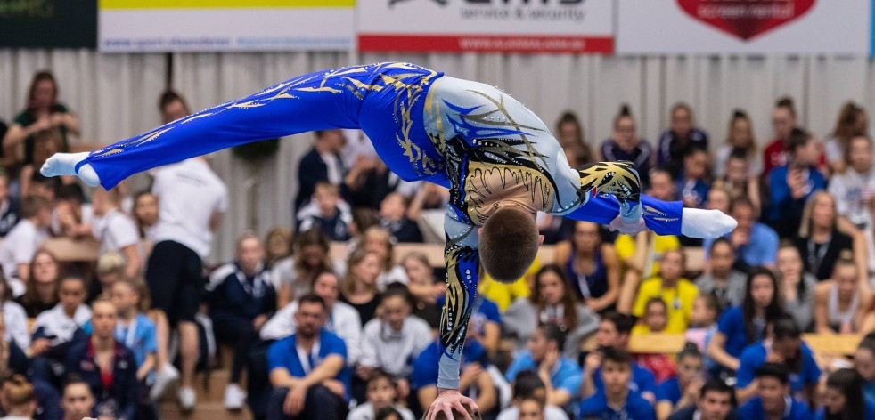 The FIG Acrobatic World Cup in Puurs took place at Sportcomplex De Vrijhals ©FIG