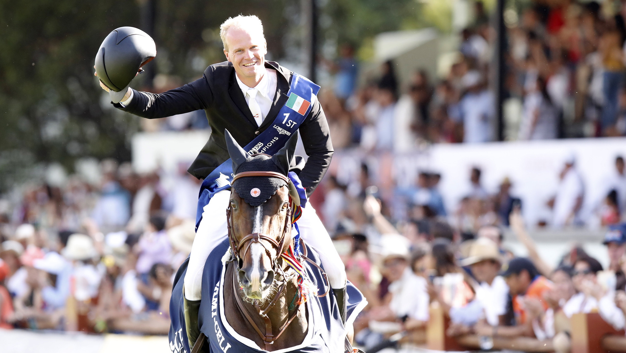 Guery triumphs in Longines Global Champions Tour in Mexico City