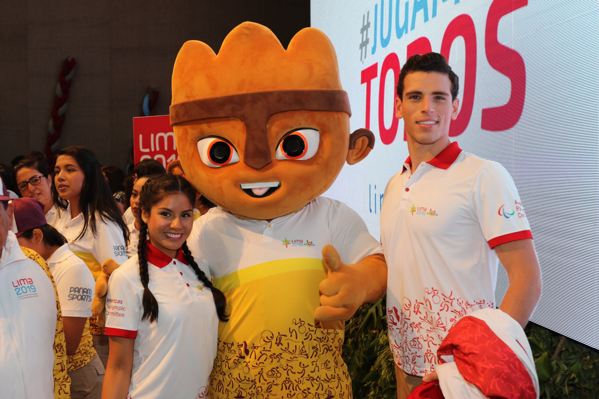 The Lima 2019 volunteers' uniforms have been revealed ©Panam Sports