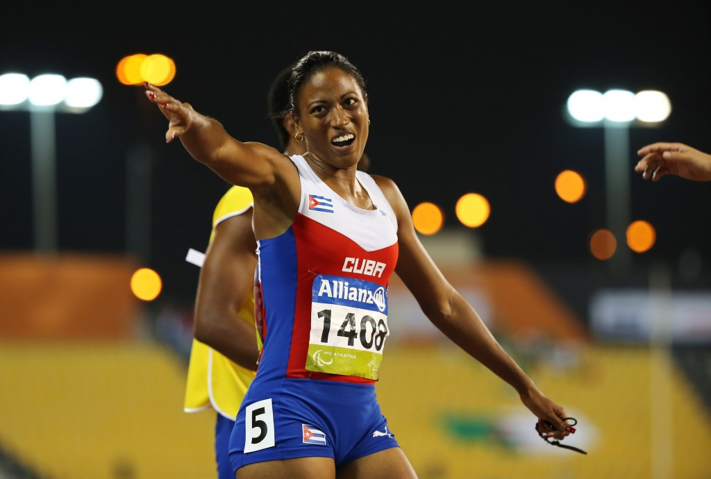 Durand breaks own world record to complete golden hat-trick at IPC Athletics World Championships