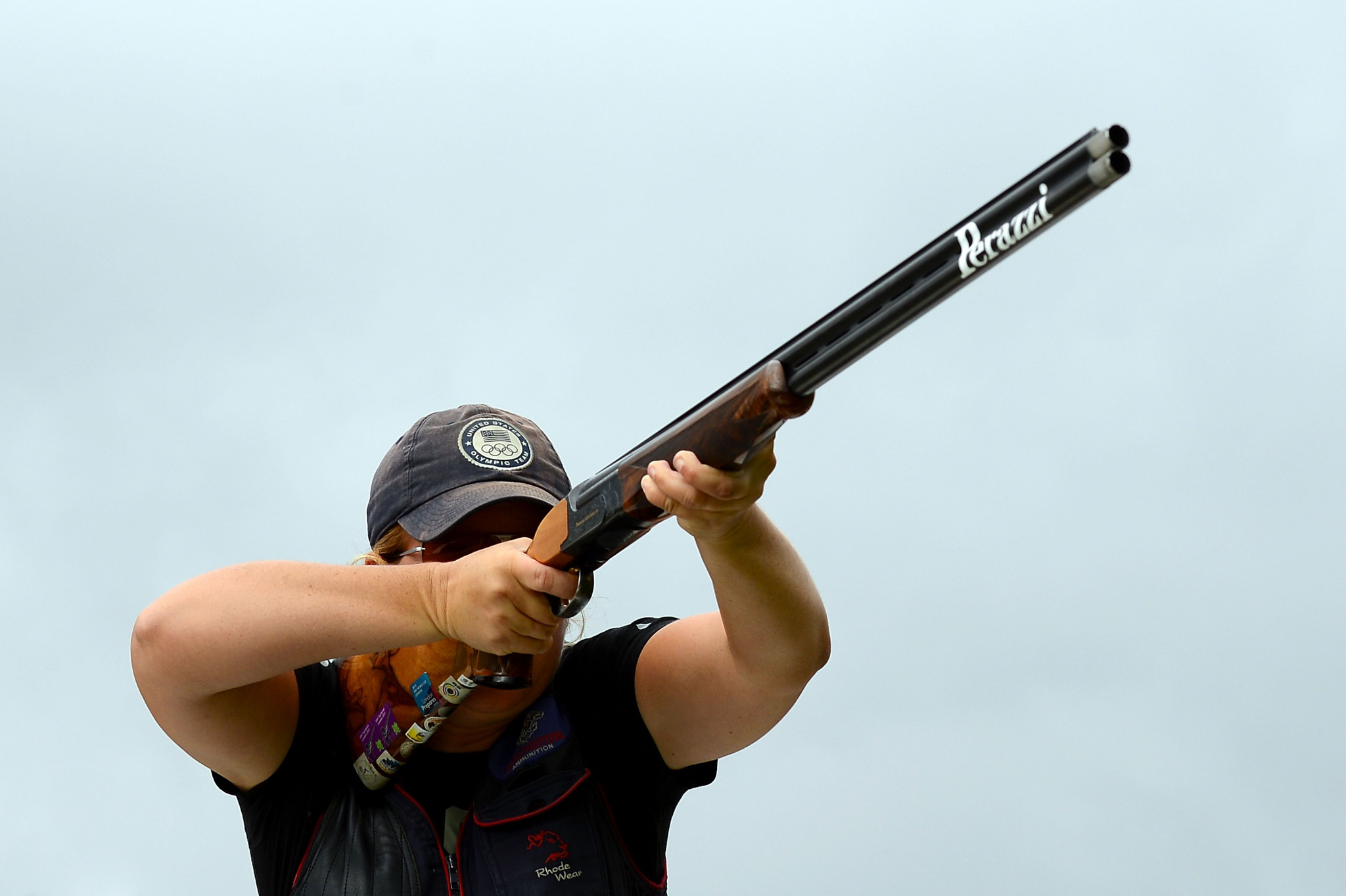 Kimberly Rhode of the United States took her 20th ISSF Shotgun World Cup medal in Al Ain ©Getty Images
