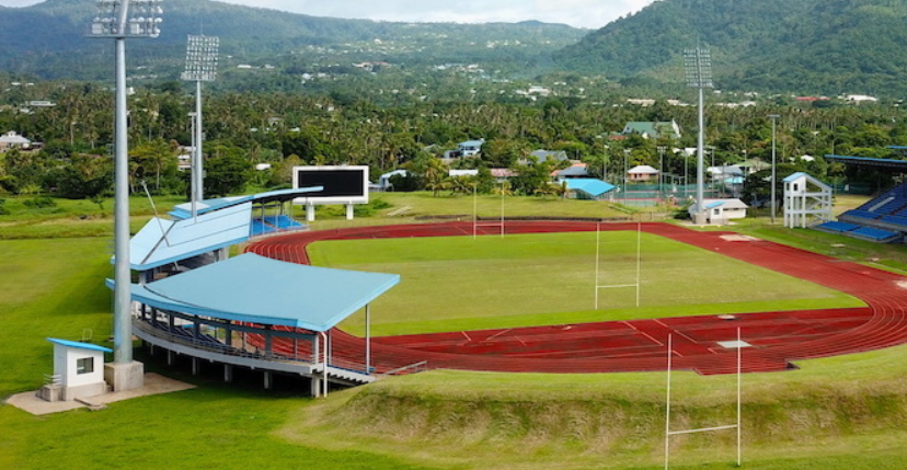 Apia Park Stadium is among the venues being used for the Samoa 2019 Pacific Games ©Samoa 2019