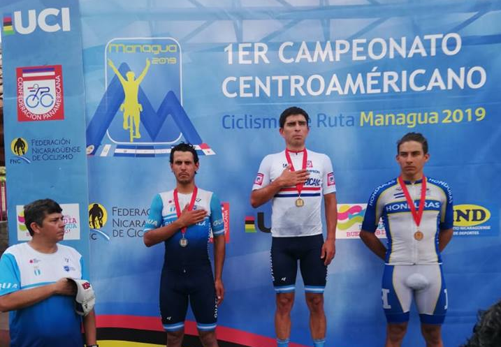 Rodas wins double gold at Central American Cycling Championships in Managua