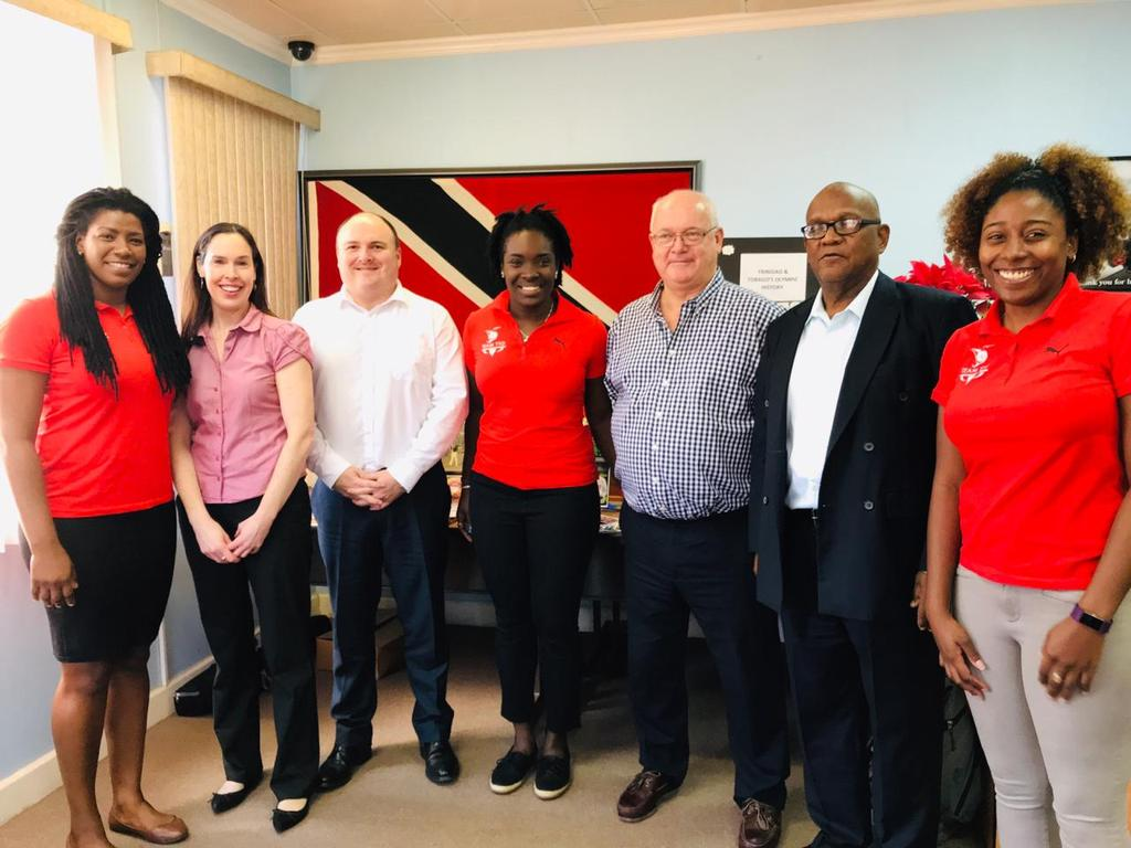 Officials from the Commonwealth Games Federation conducted an inspection visit to Trinidad and Tobago in February after visiting its only rival, Gibraltar, for the 2021 Commonwealth Youth Games ©Twitter