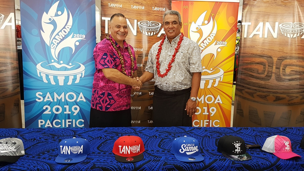 Tanoa Samoa Clothing Co. has signed to become a sponsor of this year's Pacific Games in Samoa ©Samoa 2019