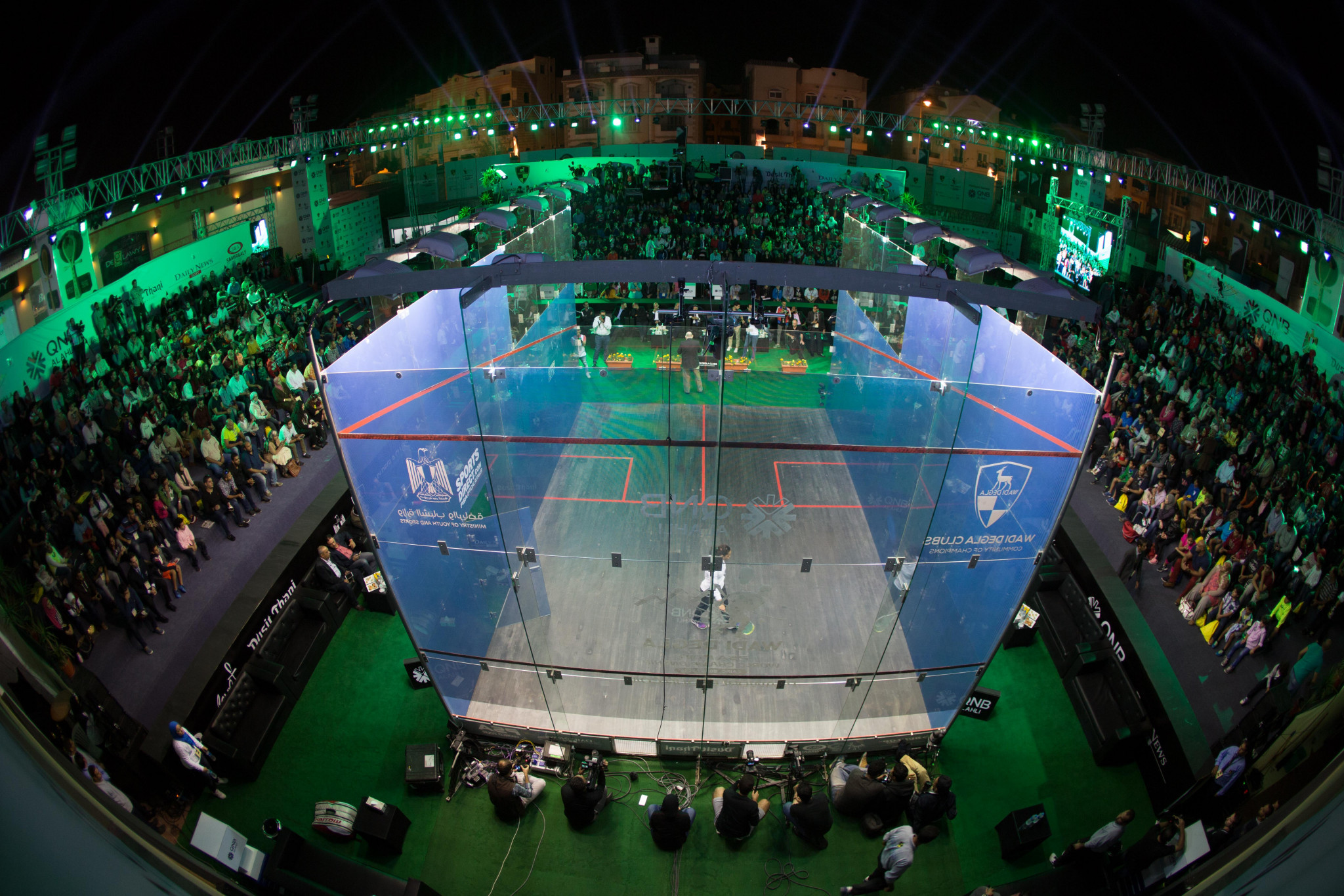 Wadi Degla Club in Cairo will host this year's PSA World Tour Finals ©PSA