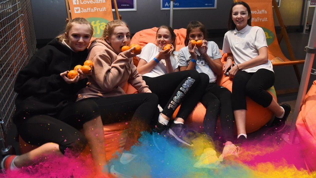 The Netball World Cup in Liverpool claims it is aligning itself with Jaffa's aims to help people lead healthier lives ©Netball World Cup 2019