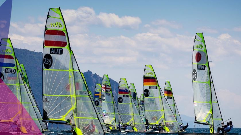 The Sailing World Cup is underway in Genoa ©World Sailing