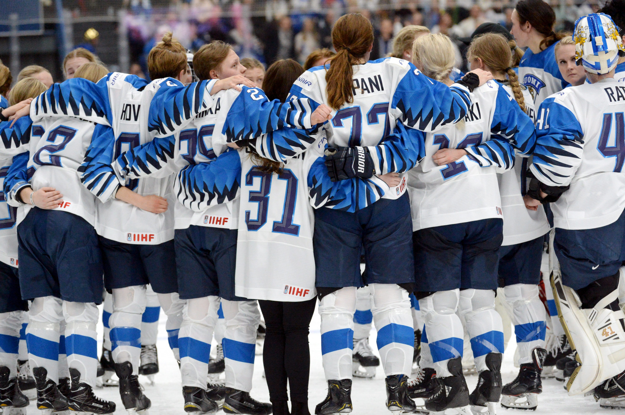 IIHF defend controversial decision to disallow Finland goal in Women's World Championship final against United States