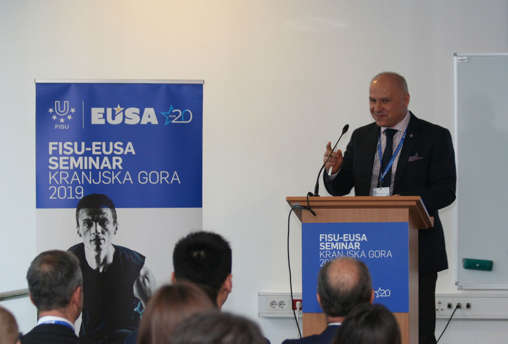 FISU and EUSA have held a joint seminar to enhance collaboration ©FISU