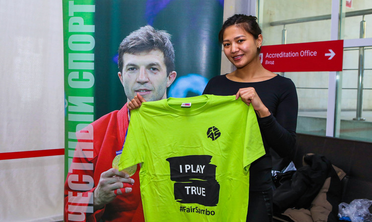 FIAS celebrates WADA's Play True Day with sambo athletes around the globe