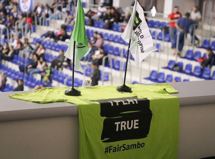 FIAS launched its #FairSambo campaign in 2016 ©FIAS