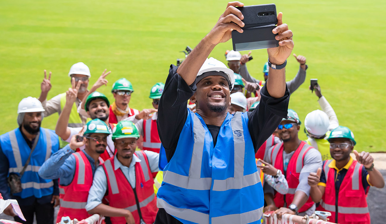 Samuel Eto'o will assist and support the Supreme Committee for Delivery and Legacy in the delivery and implementation of its initiatives ©Supreme Committee for Delivery and Legacy