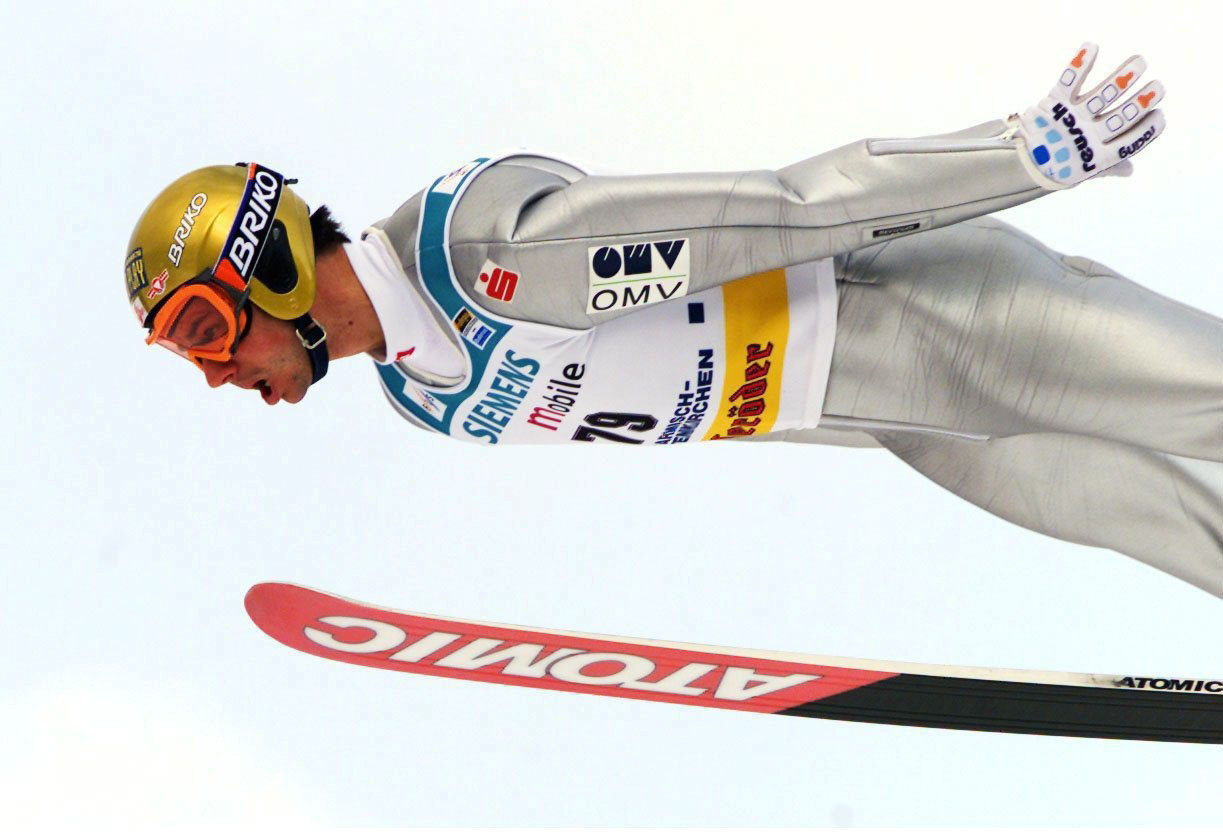 Stefan Horngacher won ski jumping bronze medals for Austria at the Lillehammer 1994 and Nagano 1998 Winter Olympic Games ©Getty Images