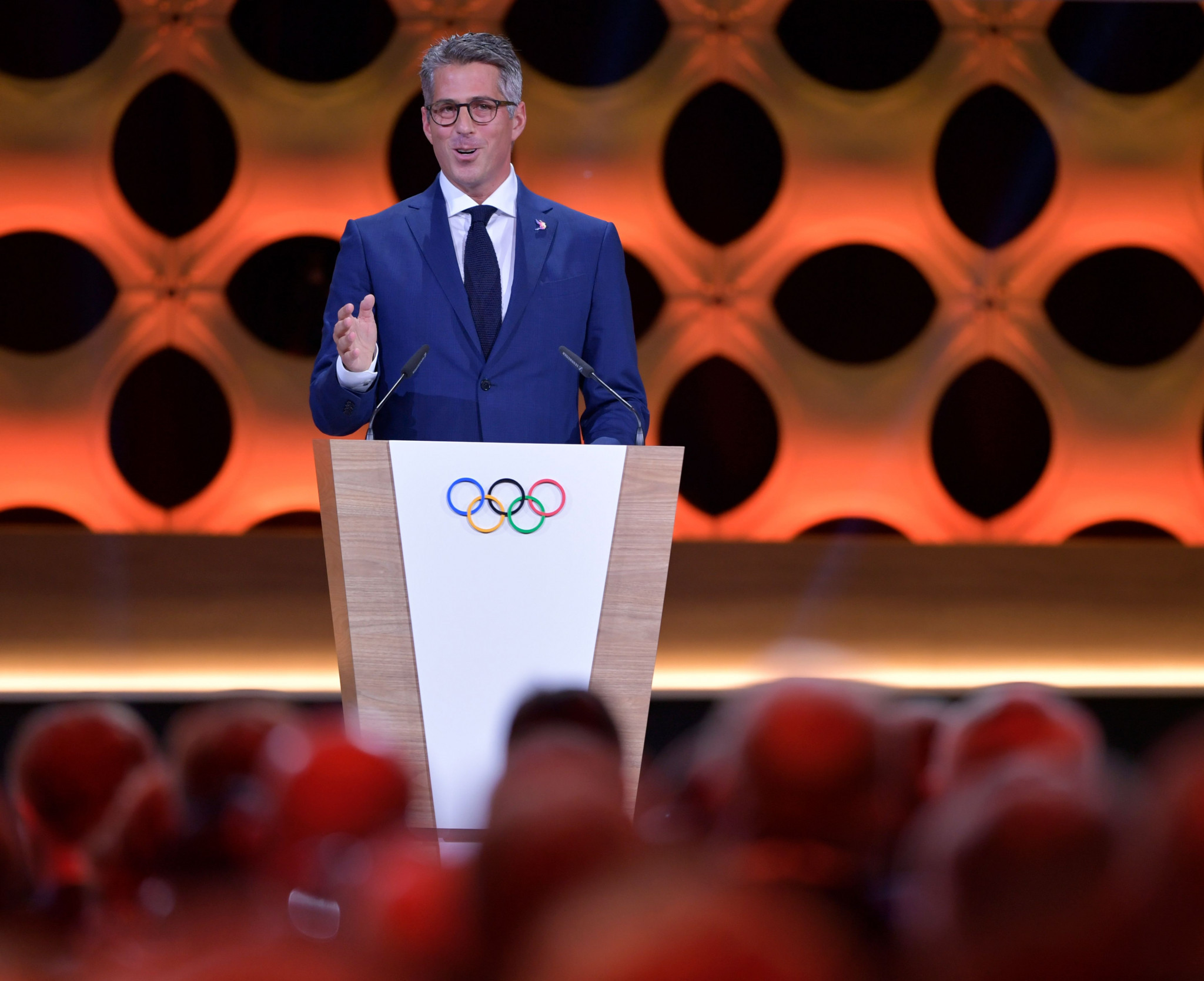 "Los Angeles 2028 chairman Casey Wasserman claims partnership guarantees the Games ""success like no other Games before"" ©Getty Images"