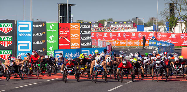 Flying 400 sprint competition introduced to elite wheelchair races at London Marathon