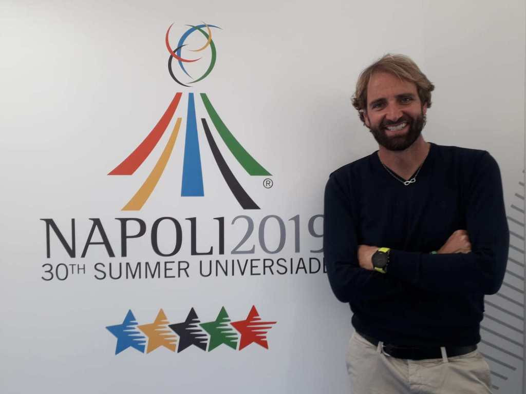 Olympic gold medal-winning swimmer Rosolino to help promote Naples 2019 Summer Universiade