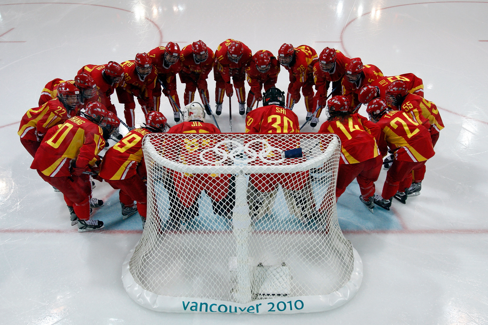 China has been represented in the women's ice hockey tournament at three Winter Olympic Games, including Vancouver 2010, where they finished seventh ©Getty Images