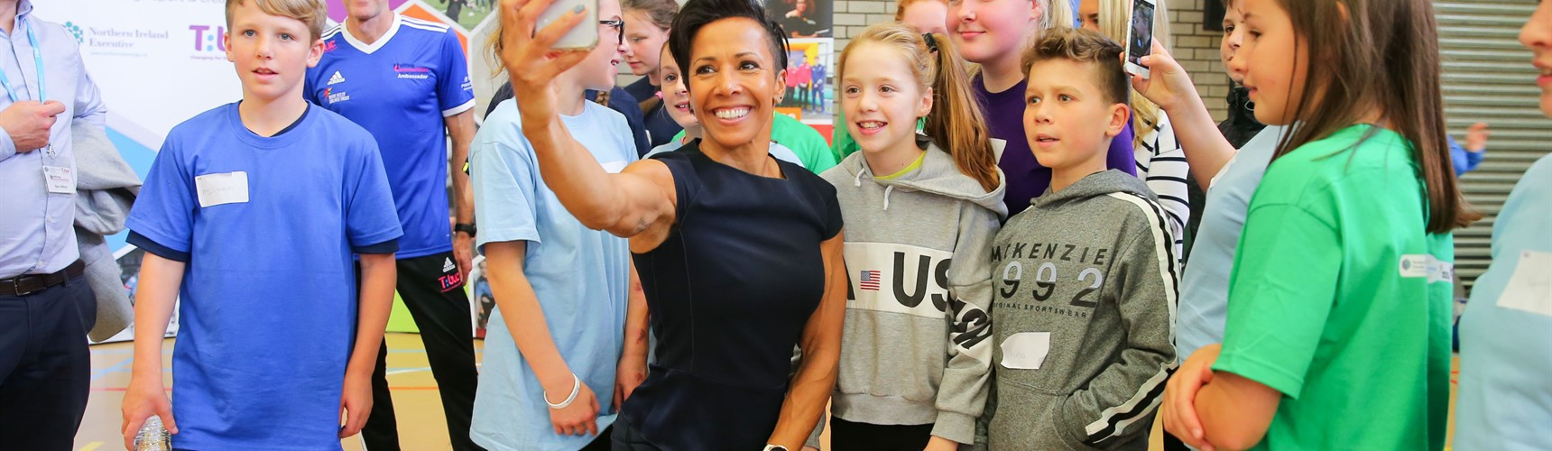 The Dame Kelly Holmes Trust, set up in 2008 by Britain's double Olympic gold medallist, has sought to find ways of supporting retired elite athletes for over a decade ©Dame Kelly Holmes Trust