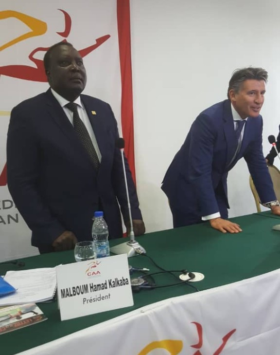 Malboum re-elected Confederation of African Athletics President as Tuwei becomes vice-president