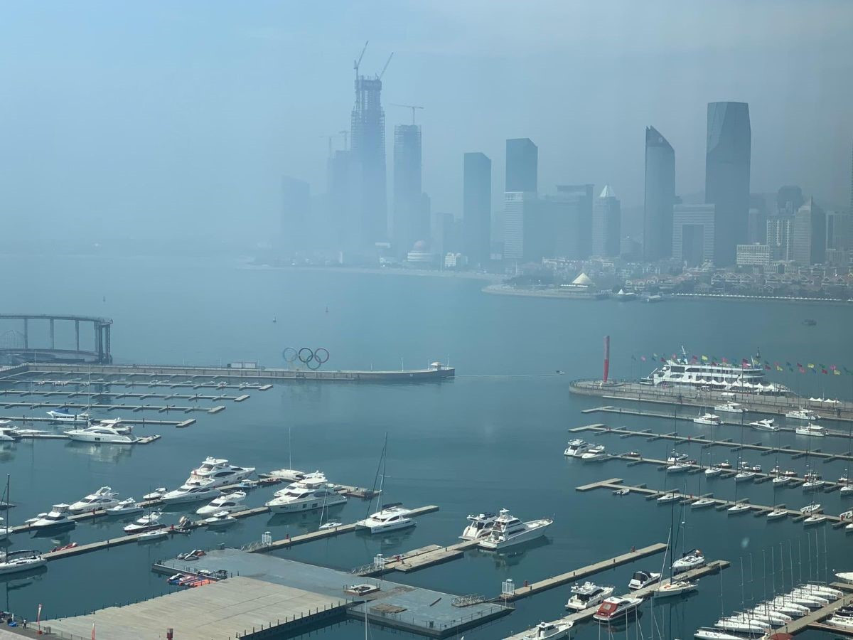 Qingdao staged sailing events at the 2008 Olympic Games in Beijing ©ICF
