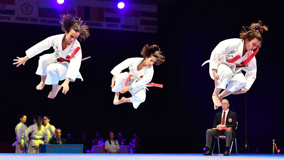 Agalmam spearheads home hopes as WKF Karate1-Premier League series reaches Rabat