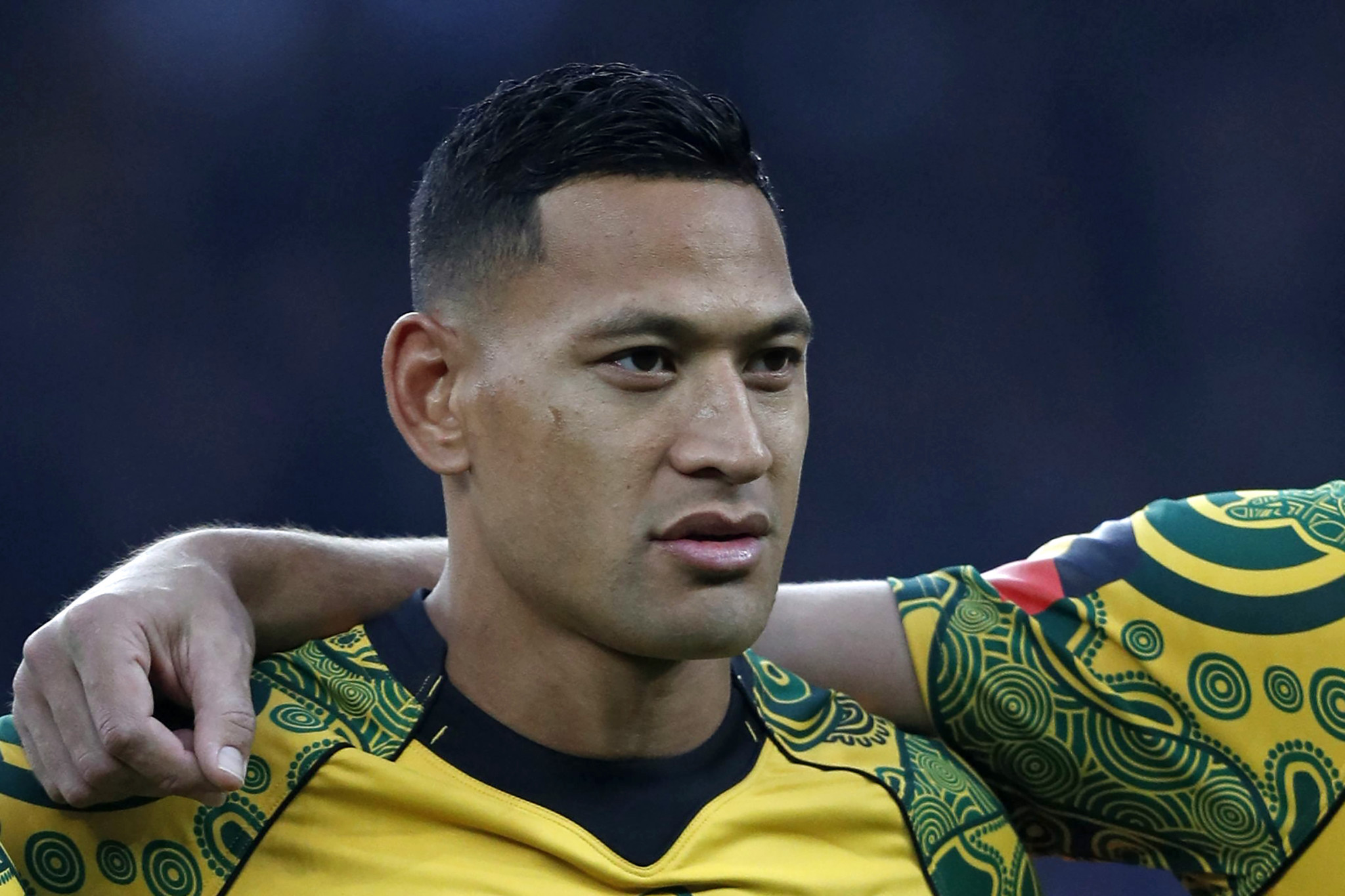 Israel Folau is formally challenging Rugby Australia's decision to end his contract over a comment on social media about homosexuals ©Getty Images