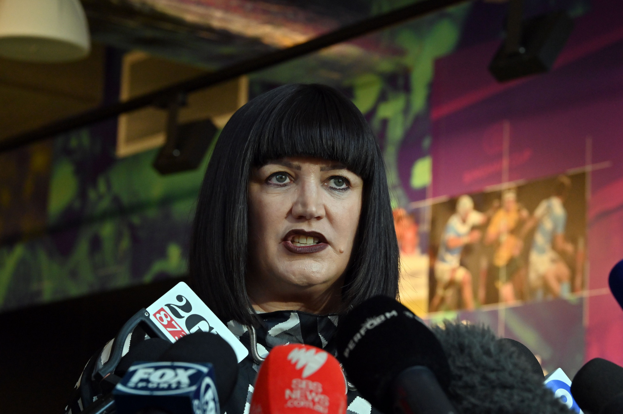 Rugby Australia chief executive Raelene Castle said Israel Folau's request for a code of conduct hearing was not an
