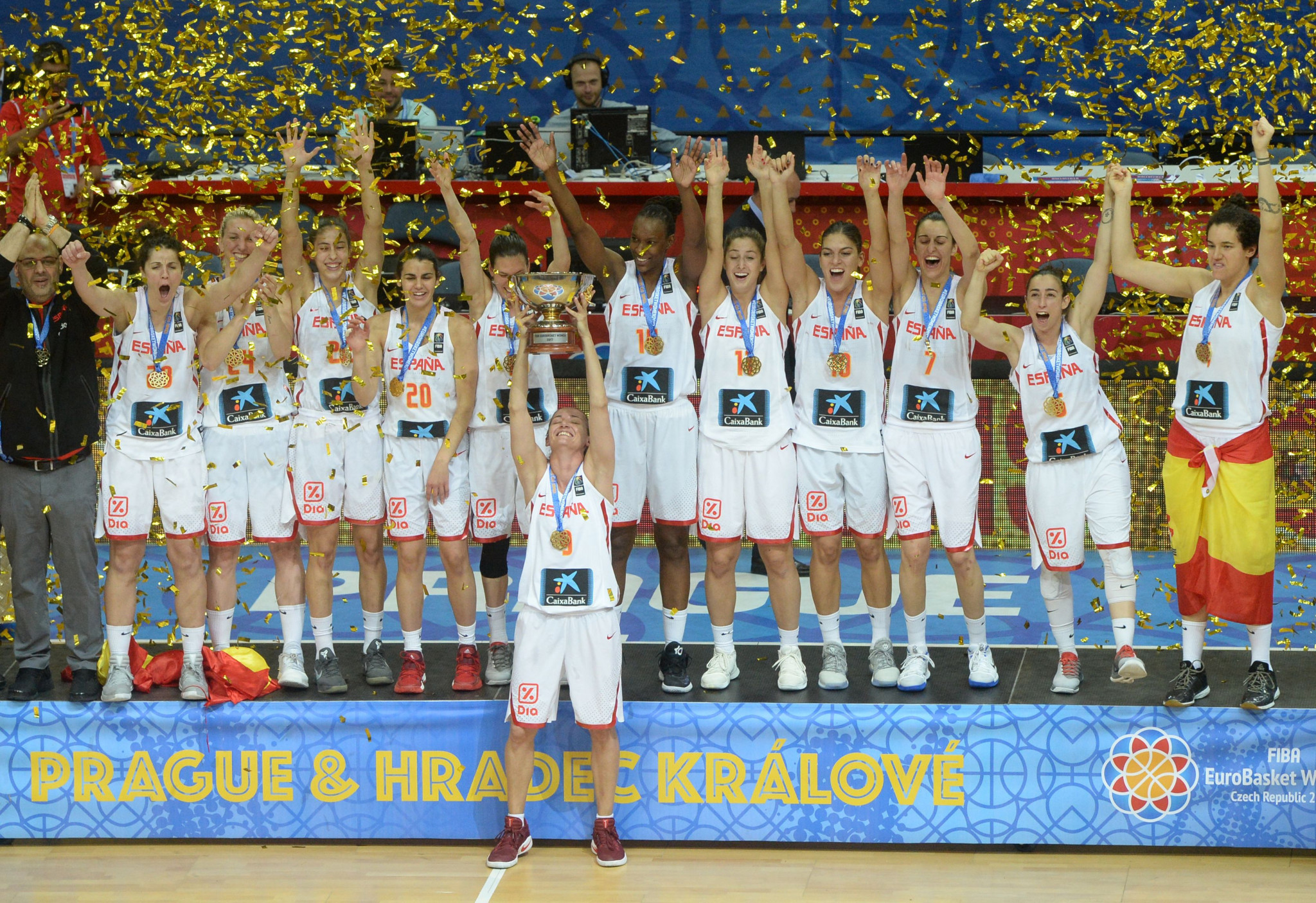 Defending champions Spain have bid to host the 2021 women's EuroBasket ©Getty Images