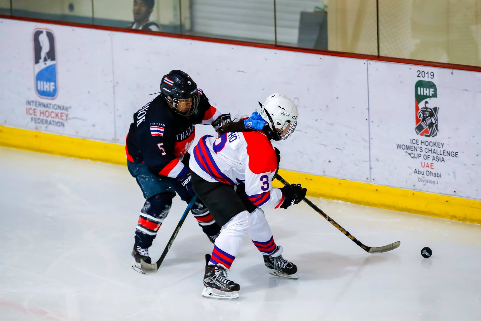 Thailand thrash Singapore to top IIHF Women's Challenge Cup of Asia standings