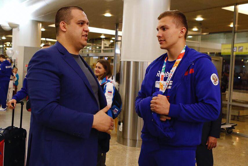 EUBC and AIBA Executive Committee member Umar Kremlev, left, will be among the attendees at the meeting ©BFR