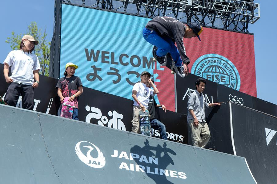 Hiroshima is staging the opening FISE Battle of Champions for the season, with competition across a range of extreme sports starting tomorrow in the Japanese city ©FISE