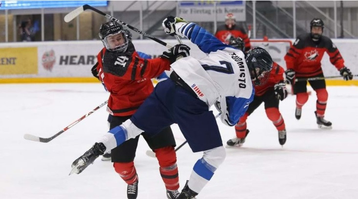 Canada fight back to stun defending champions Finland at IIHF Under-18 World Championship