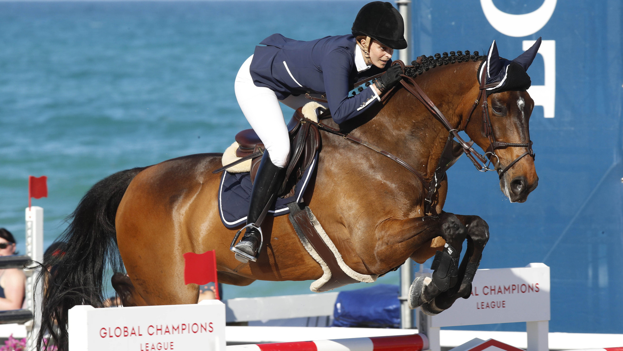 The opening class of the Global Champions League team competition has also taken place ©GCL/Stefano Grasso