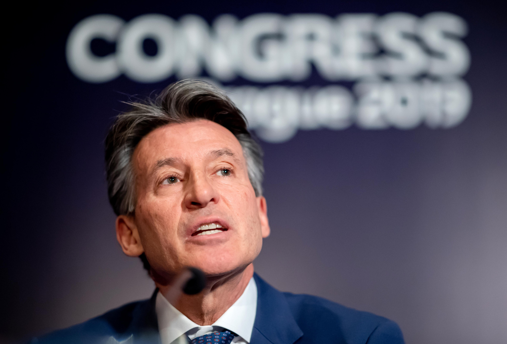 Sebastian Coe was chairman of the working group ©Getty Images