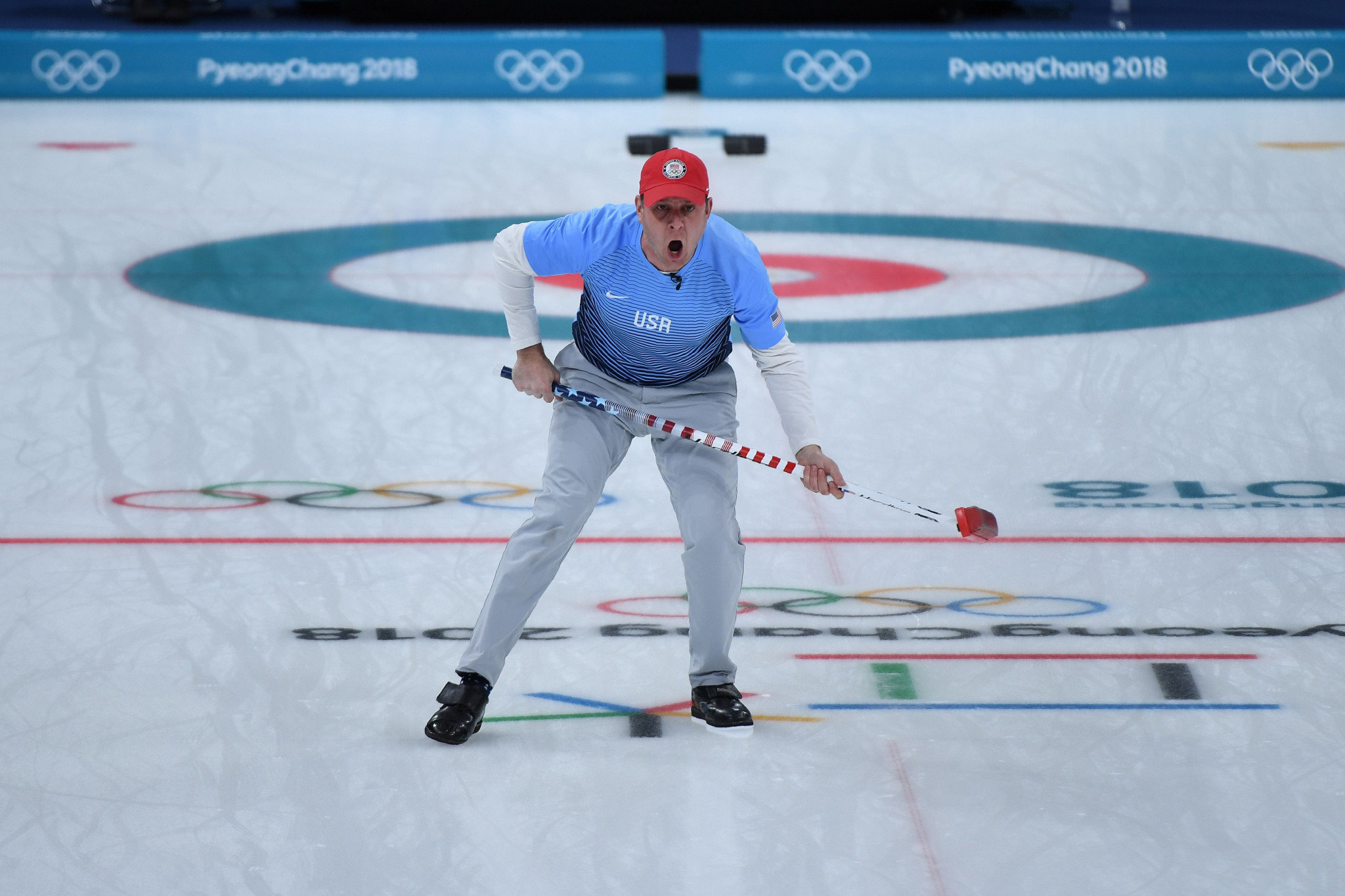 Olympic champion John Shuster will make his first appearance at the World Mixed Doubles Curling Championship in Stavanger ©Getty Images
