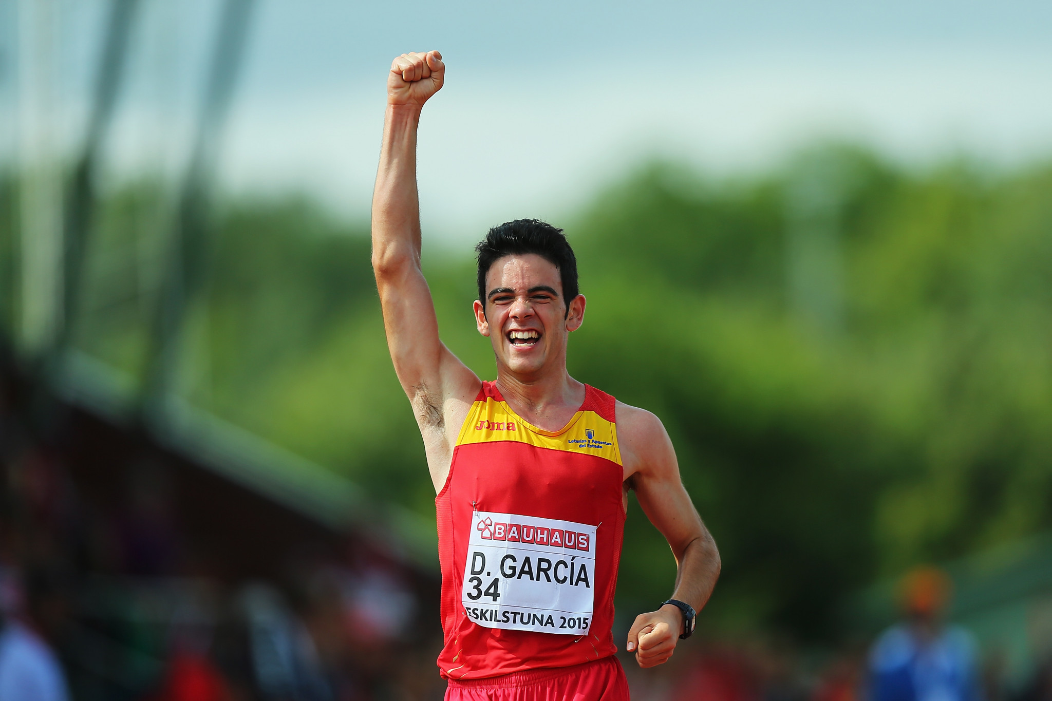 Spain's Diego García is considered the favourite in the men's 20km race ©Getty Images