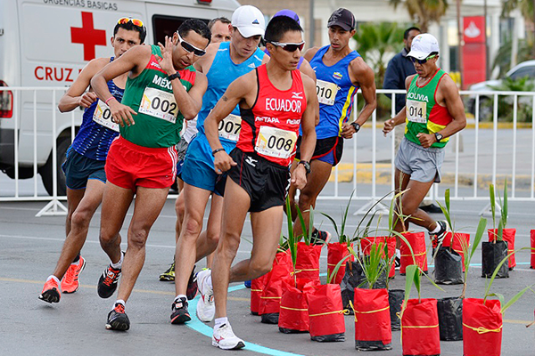 Ecuador's Andres Chocho will be competing in the men's 20km at the Pan American Race Walking Cup, the fifth leg of the IAAF Race Walking Challenge ©IAAF