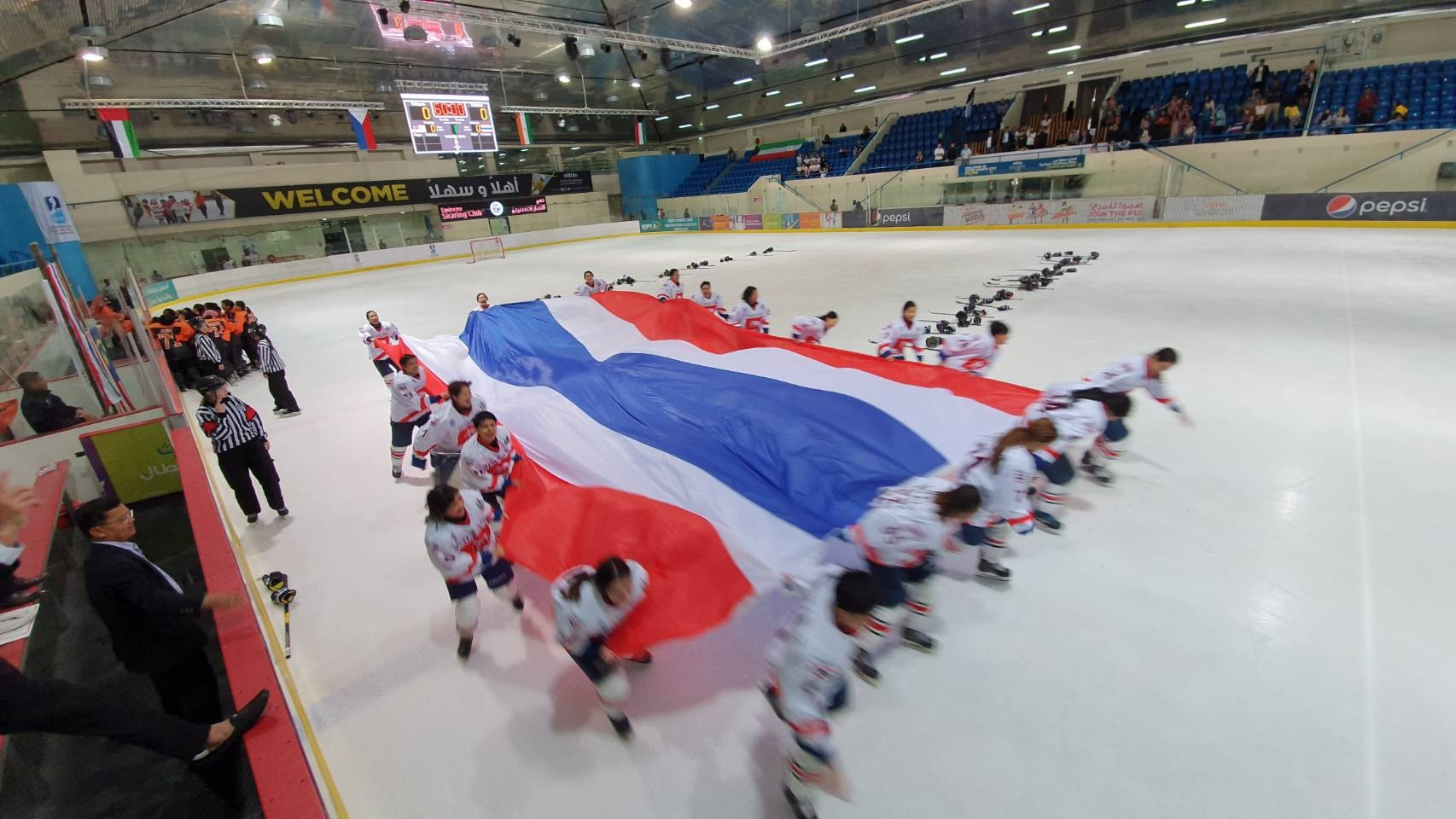 Thailand won the 2019 IIHF Women's Challenge Cup of Asia ©Facebook