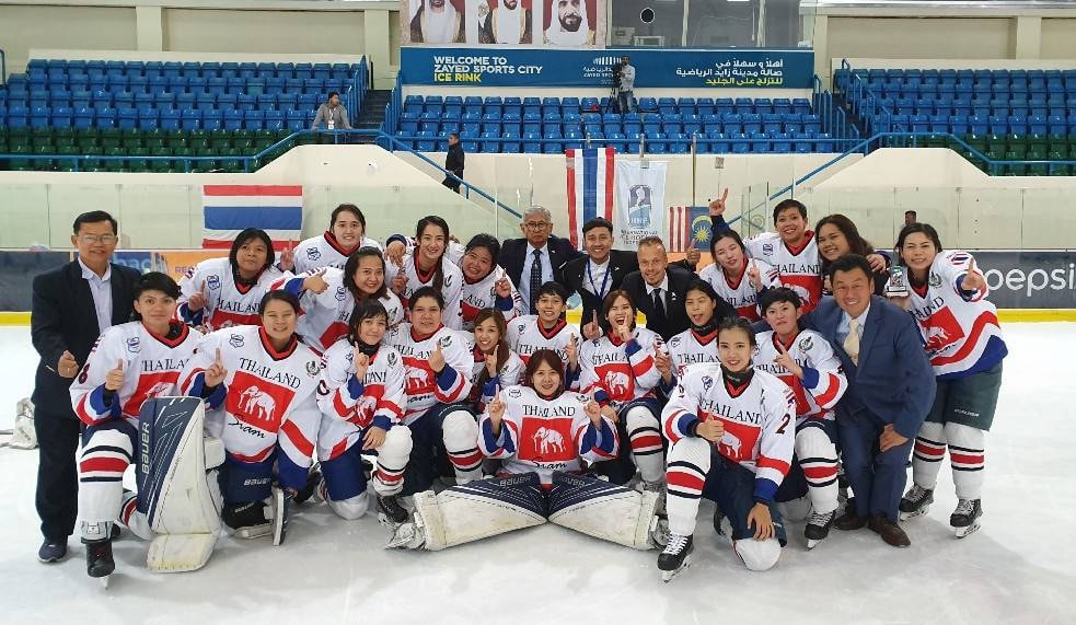 Thailand improved on last year's third-place finish at the IIHF Women's Challenge Cup of Asia ©Facebook