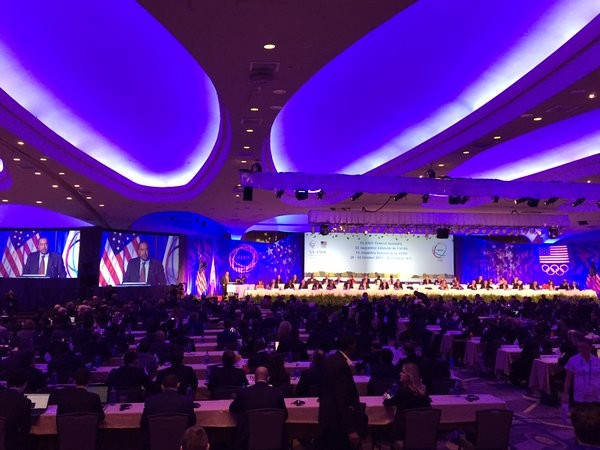 The 20th Association of National Olympic Committees General Assembly: Opening day