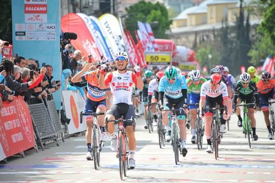 Australian pocket sprinter Caleb Ewan claimed his first stage win at the Presidential Tour of Turkey with an impressive effort in the uphill finale in Bursa ©Tour of Turkey