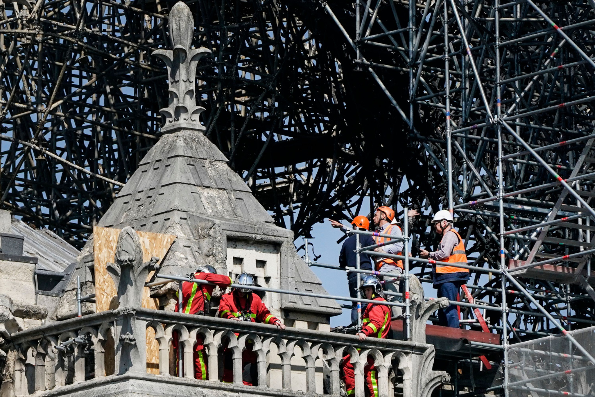 "First event of ""Paris 2024 Club"" to be dedicated to Notre-Dame firefighters"