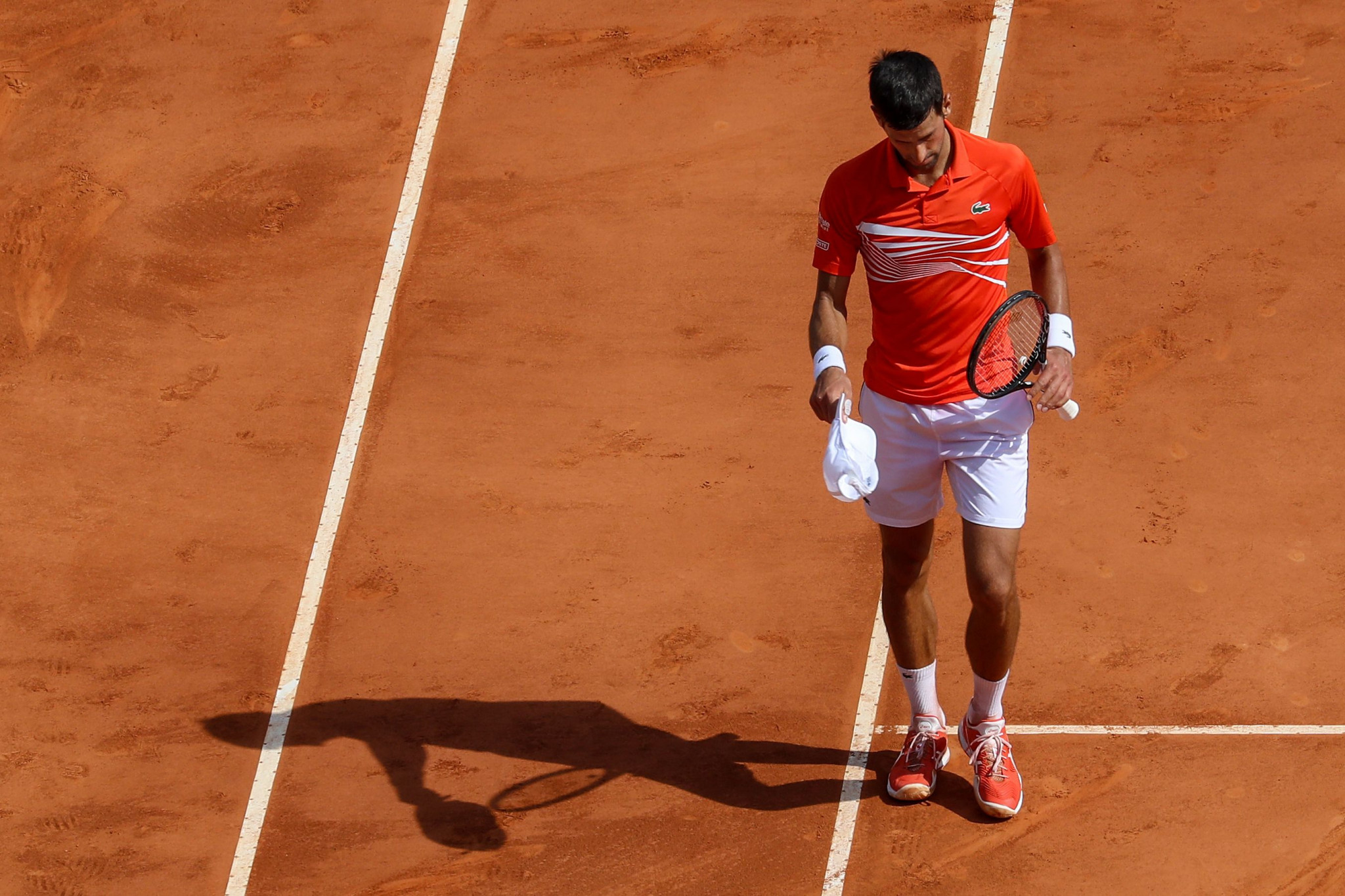 Serbia's Novak Djokovic is out of the Monte-Carlo Masters ©Getty Images