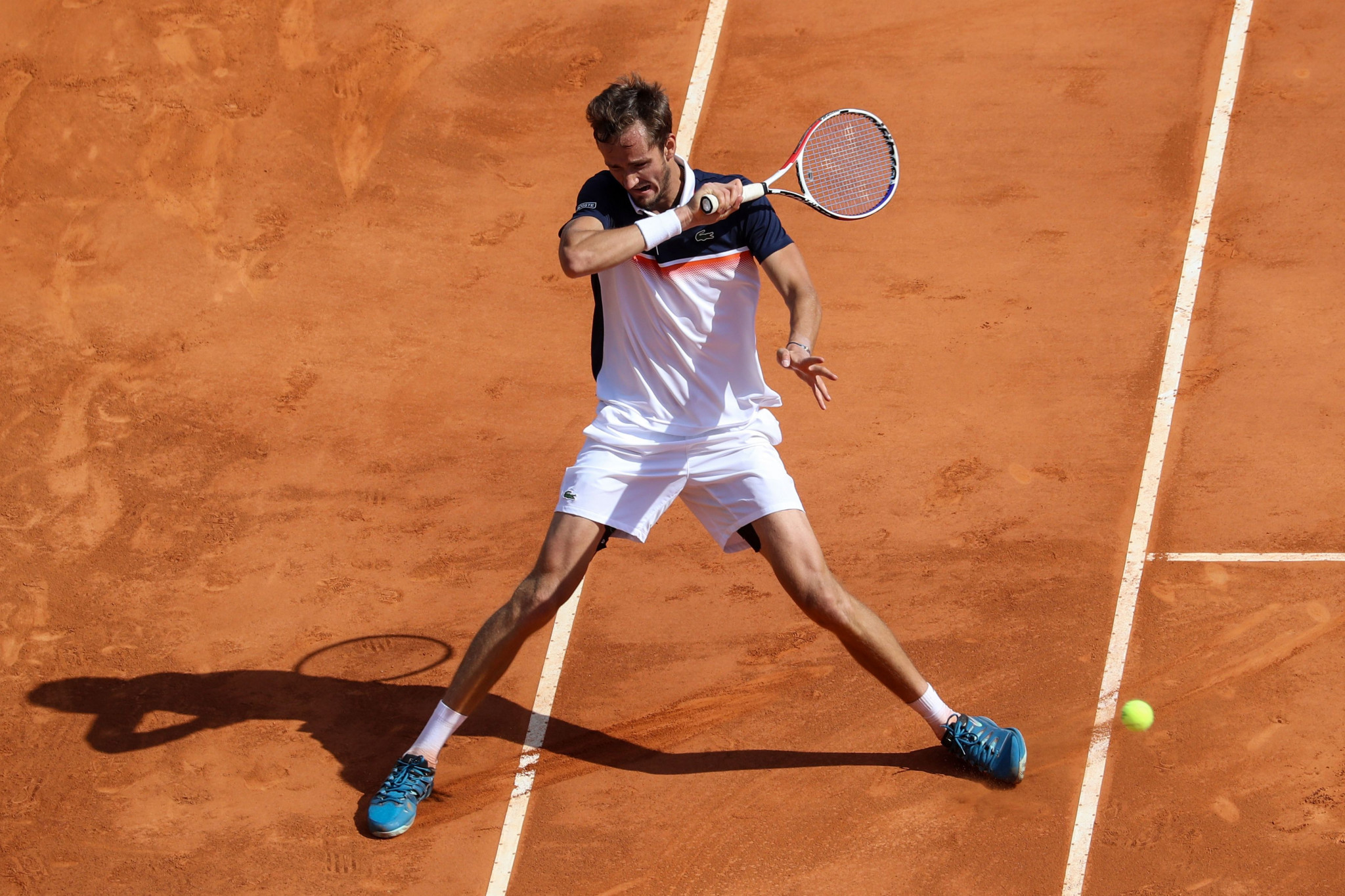 Russia's Daniil Medvedev reached his first ATP Masters 1000 semi-final in Monte-Carlo ©Getty Images