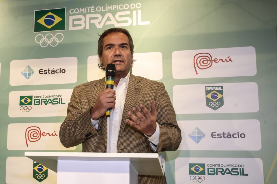 President of Panam Sports, Neven Ilic, was the guest of honour at the Brazilian Olympic Committee's event celebrating 100 days to go until Lima 2019 ©Brazilian Olympic Committee