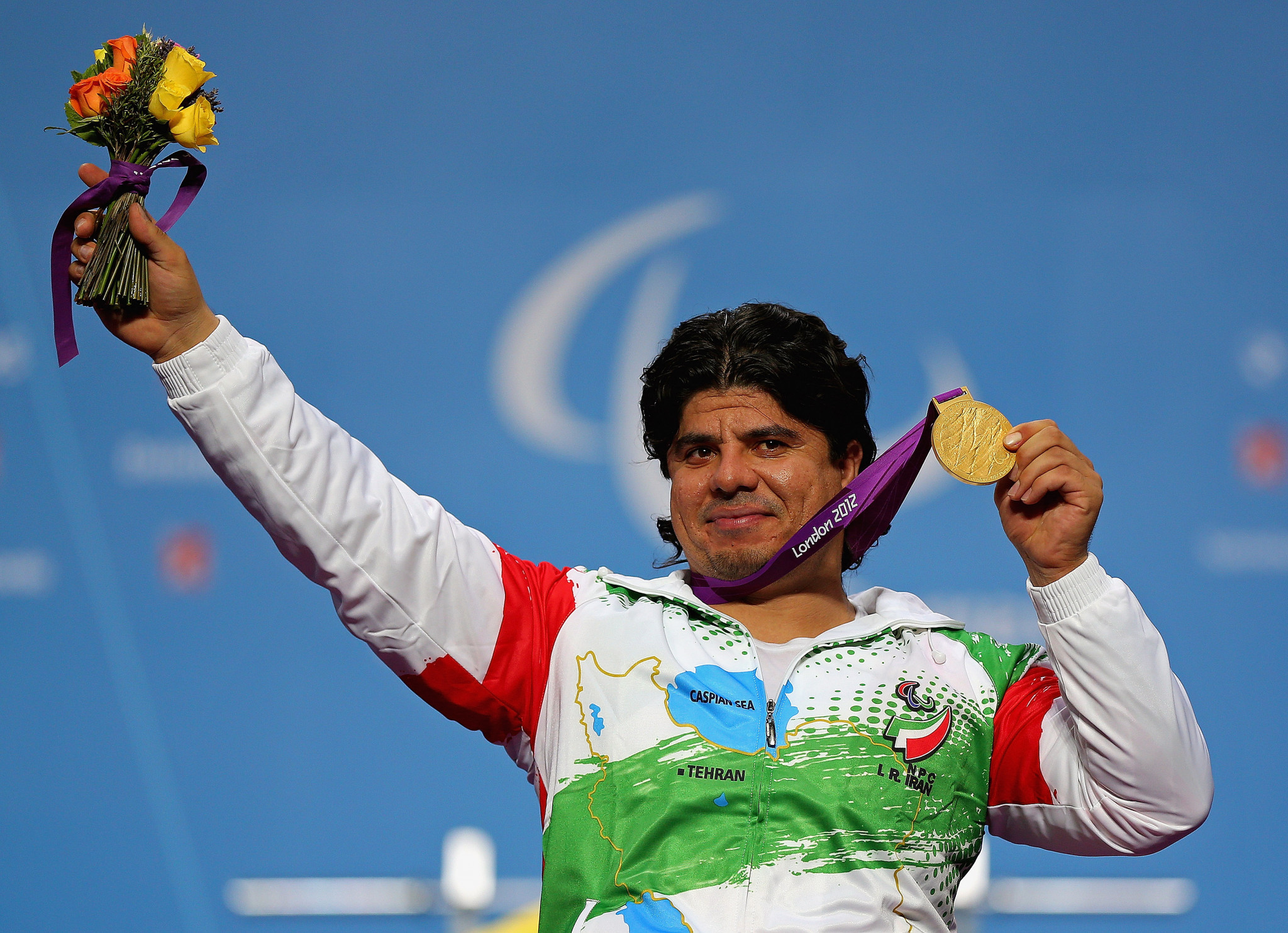 Majid Farzin is one of Iran's most successful Para powerlifters ©Getty Images