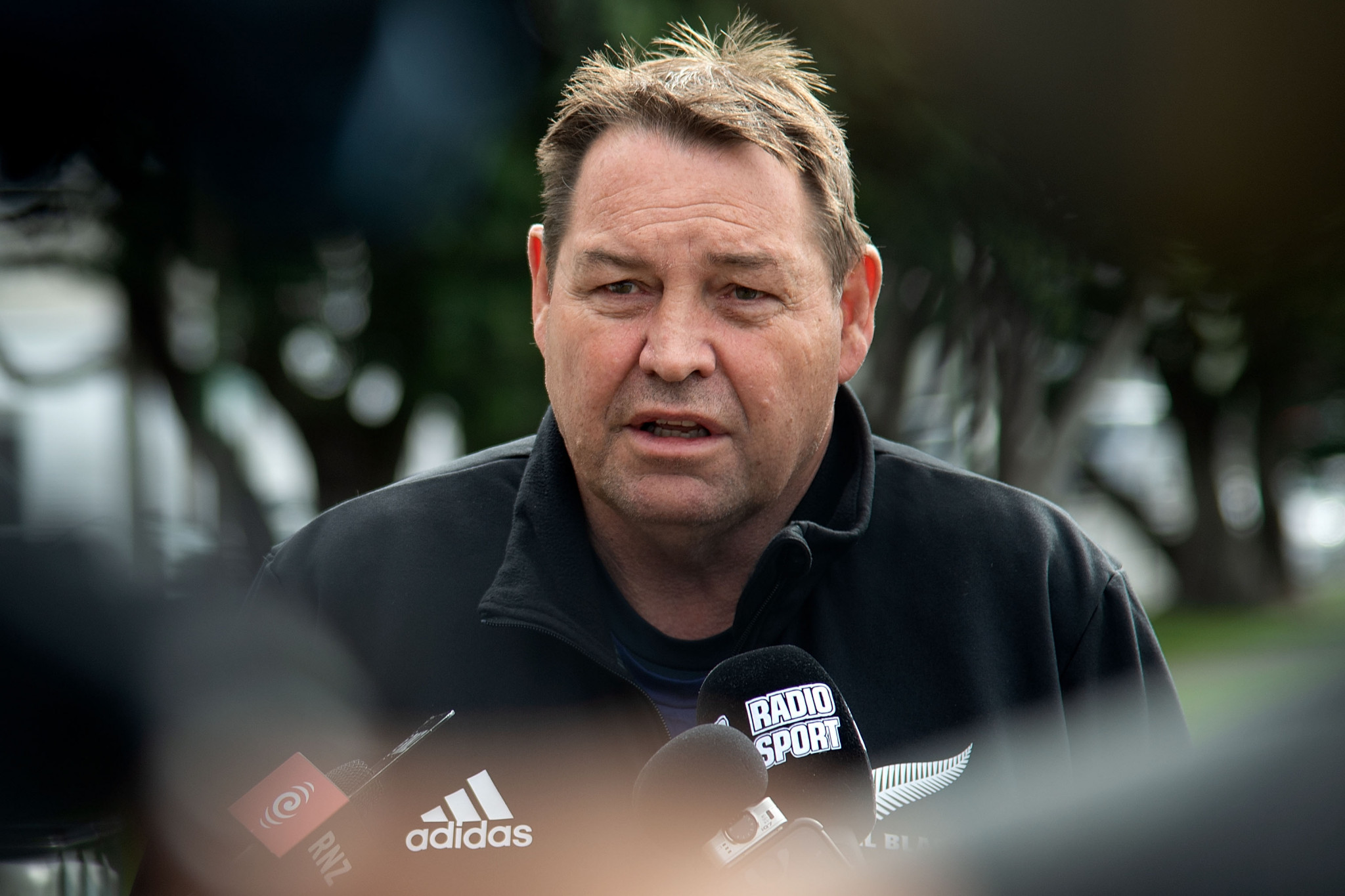 New Zealand head coach Steve Hansen ©Getty Images